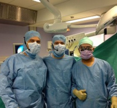 Performing live surgery in France Blog Preview Image